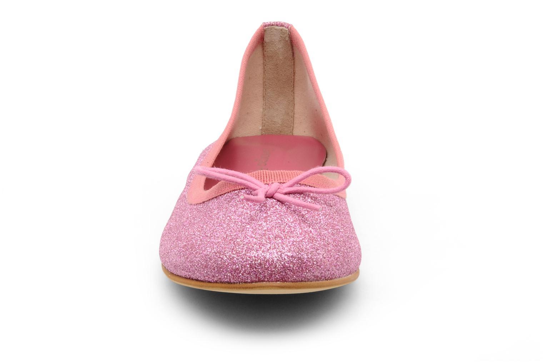 Ballerines Georgia Rose Garbo Rose vue portées chaussures