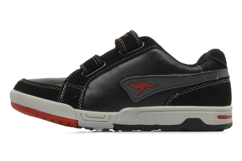 Sneakers Kangaroos Elden Zwart voorkant