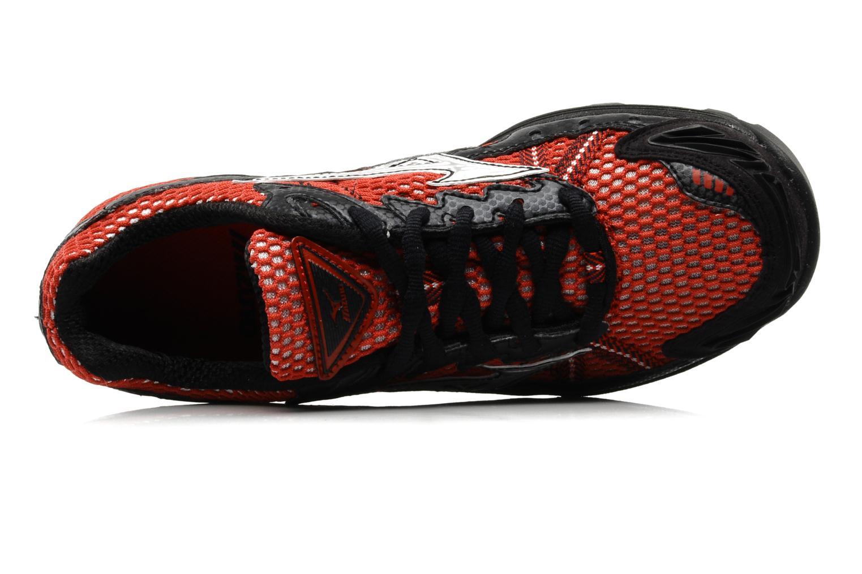 Chaussures de sport Mizuno Wave Harrier 3 W Rouge vue gauche