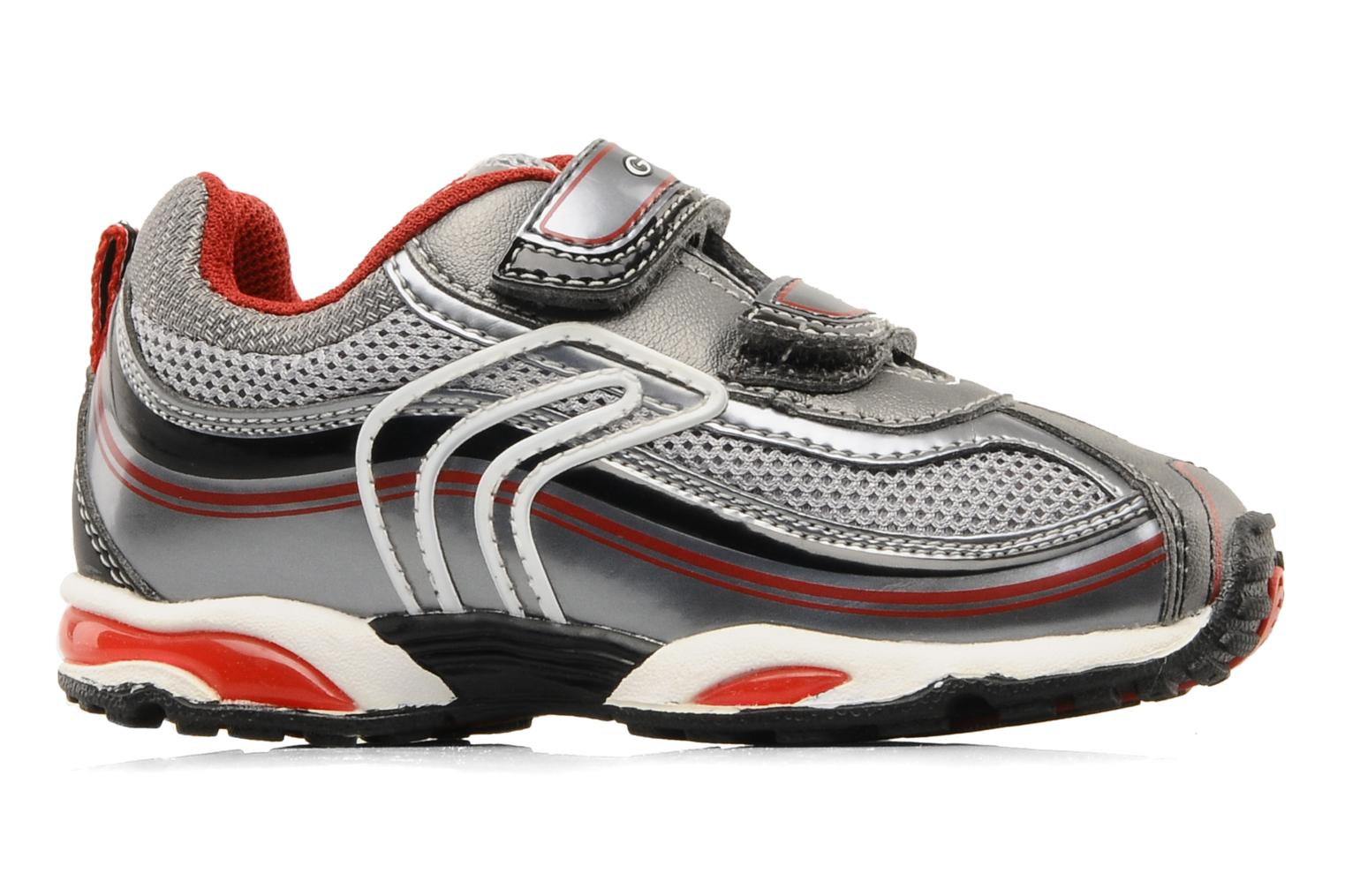 Sneakers Geox B extra C Rood achterkant