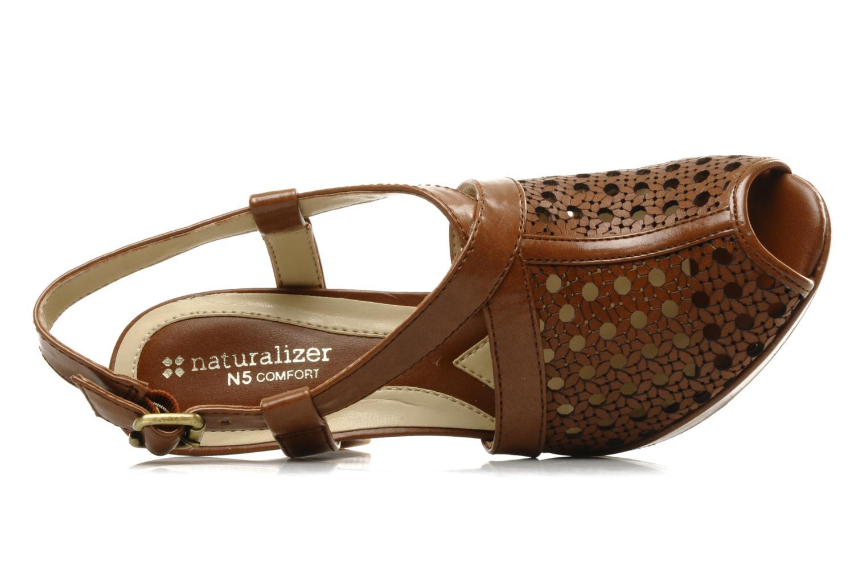 Sandalen Naturalizer Korina braun ansicht von links