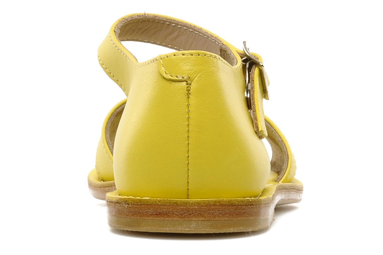 Sandalen start rite classics MEG Geel rechts