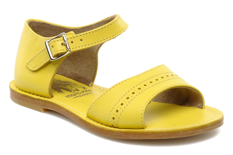 Sandalen start rite classics MEG Geel detail
