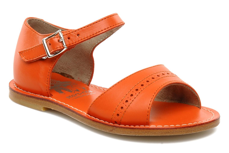 Sandales et nu-pieds start rite classics MEG Orange vue détail/paire
