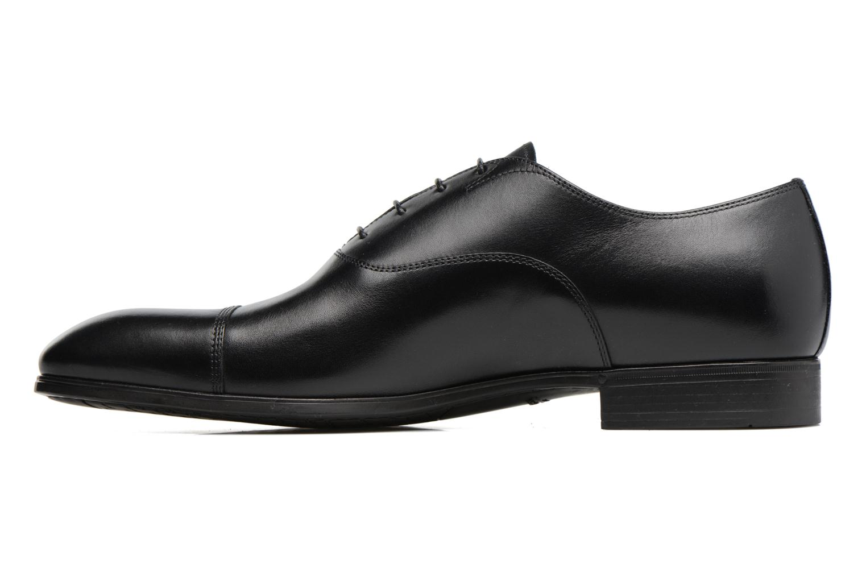Chaussures à lacets Santoni Simon 11011 Noir vue face