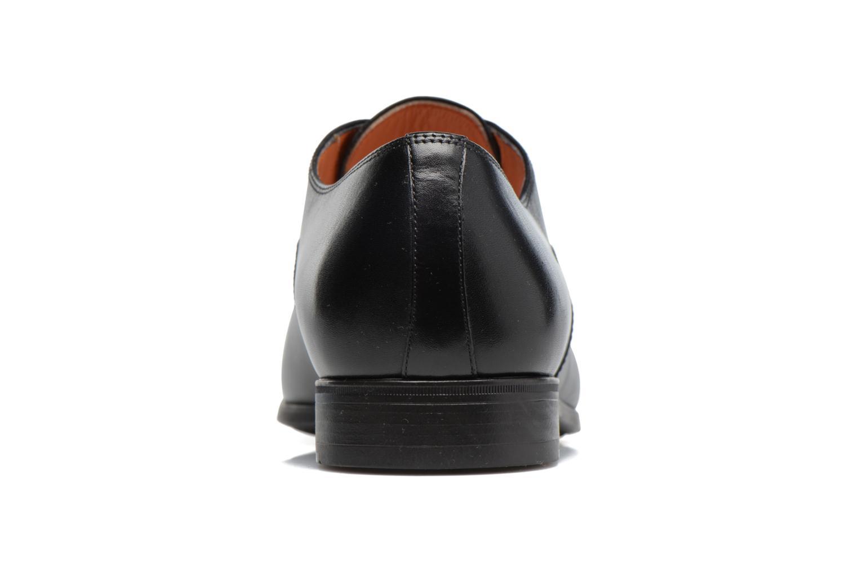 Chaussures à lacets Santoni Simon 11011 Noir vue droite