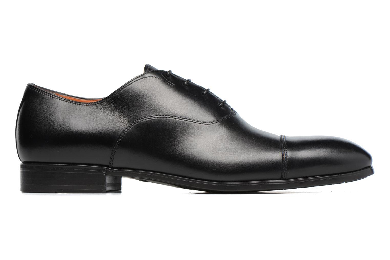Chaussures à lacets Santoni Simon 11011 Noir vue derrière