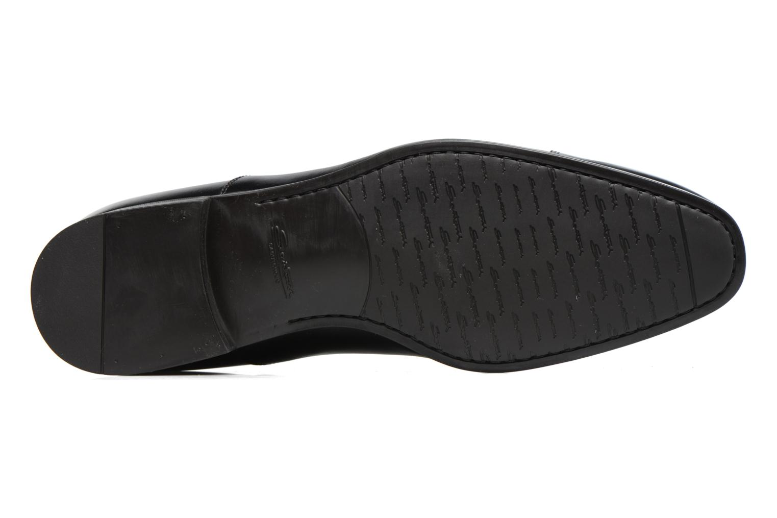 Lace-up shoes Santoni Simon 11011 Black view from above