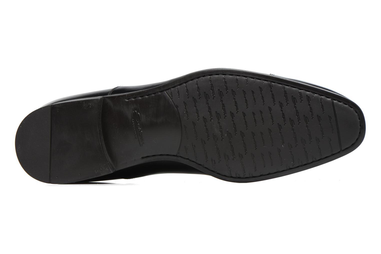 Chaussures à lacets Santoni Simon 11011 Noir vue haut