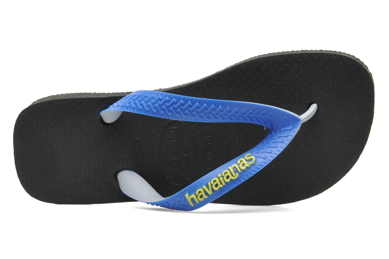 Flip flops Havaianas Top mix Kid Blue view from the left