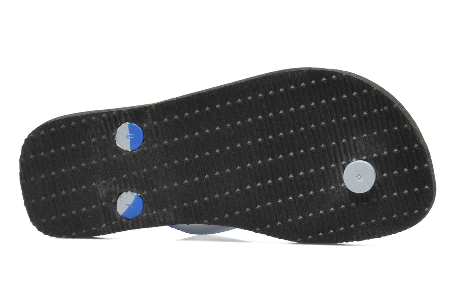 Flip flops Havaianas Top mix Kid Blue view from above