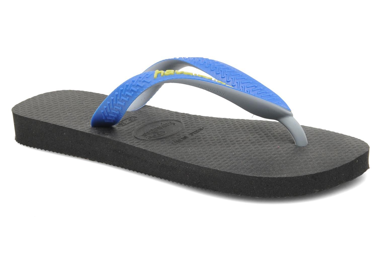 Flip flops Havaianas Top mix Kid Blue detailed view/ Pair view