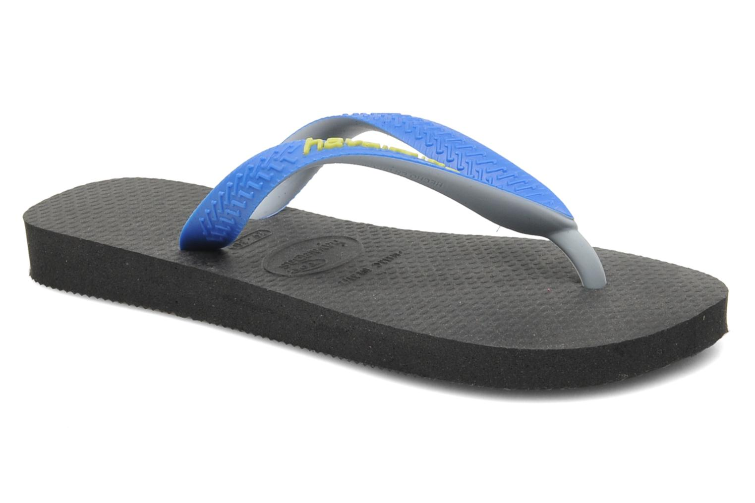 Tongs Havaianas Top mix Kid Bleu vue détail/paire