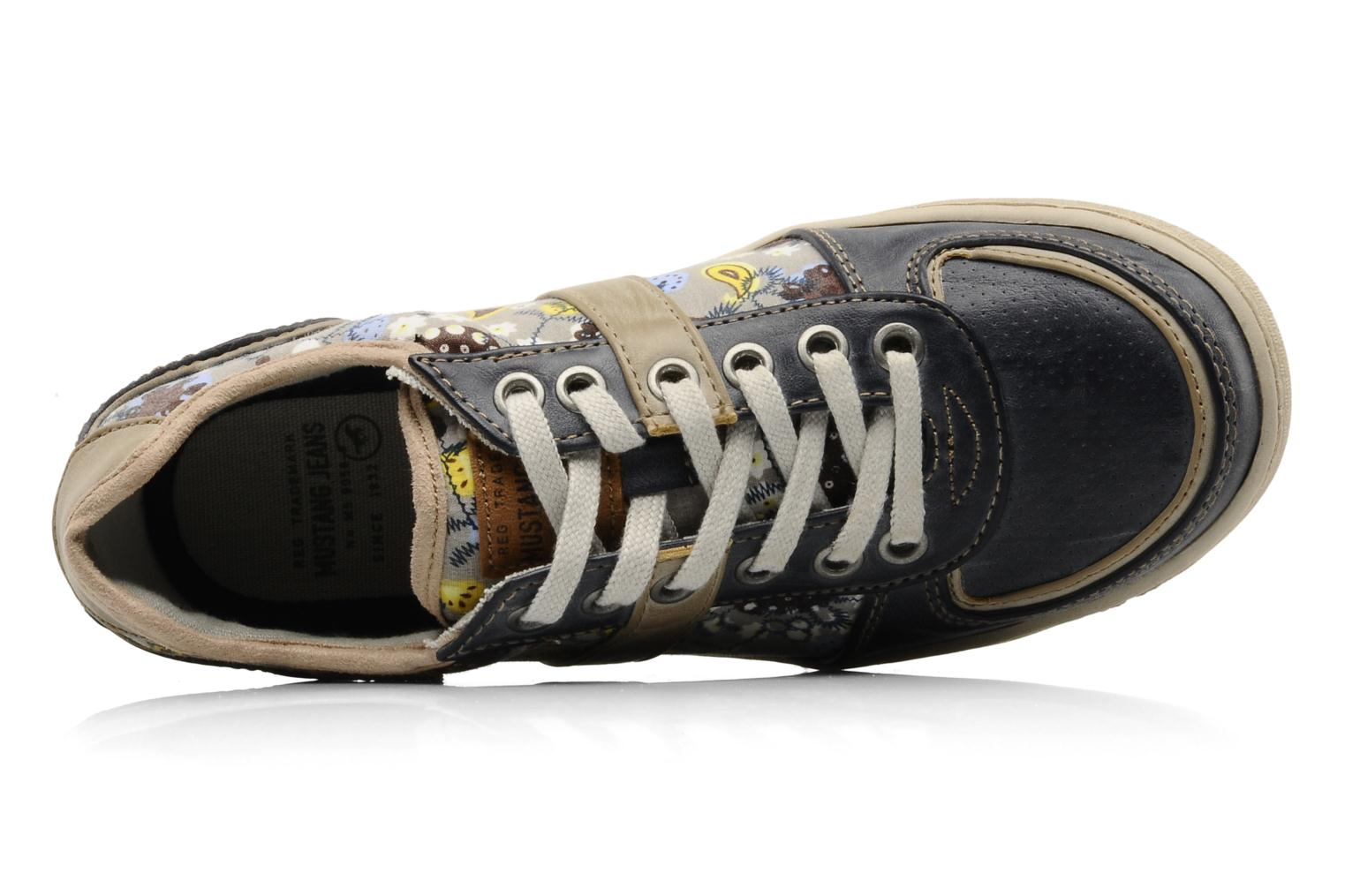 Sneakers Mustang shoes Poky Blauw links