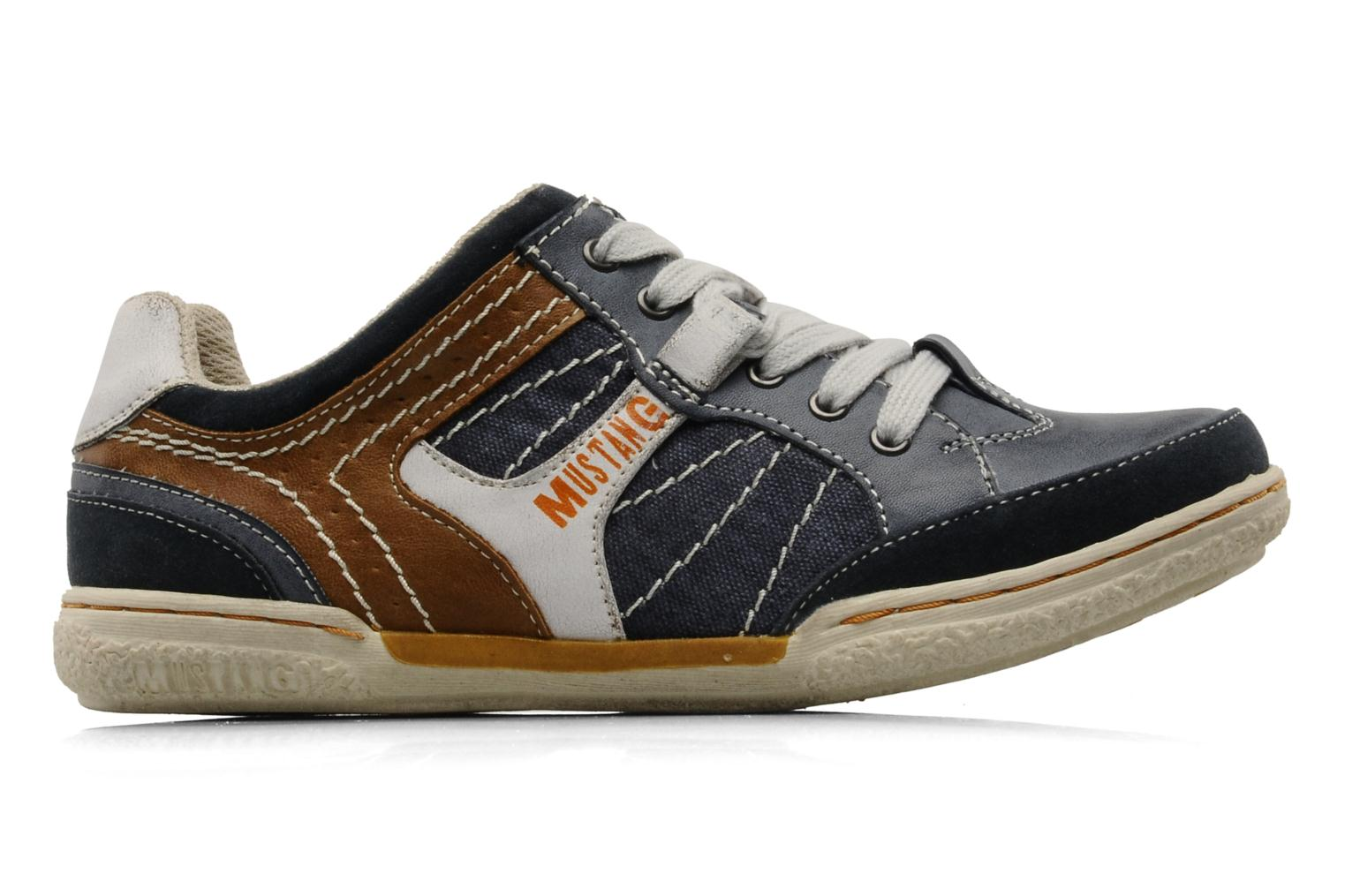 Sneakers Mustang shoes Yupo Blauw achterkant
