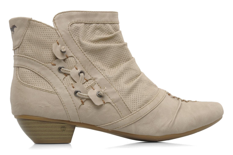 Stiefeletten & Boots Mustang shoes Macere beige ansicht von hinten