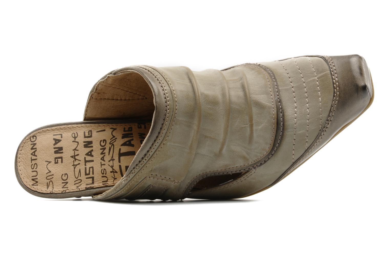 Zoccoli Mustang shoes Melkite Grigio immagine sinistra