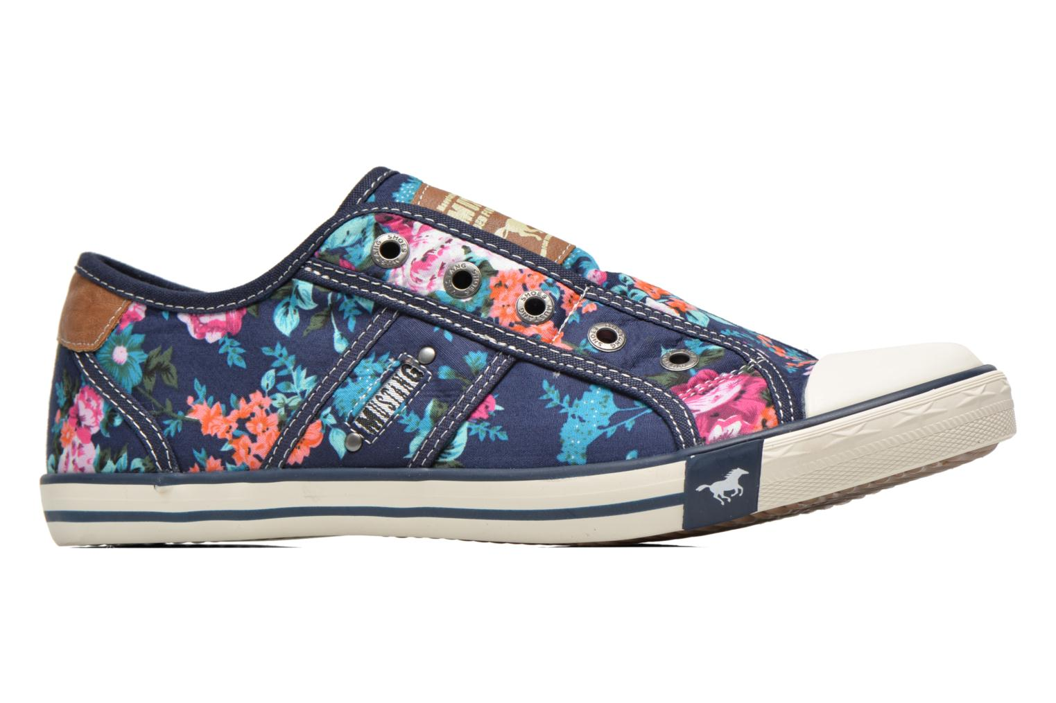 Sneakers Mustang shoes Marcus Multicolor achterkant