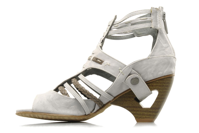 Sandali e scarpe aperte Mustang shoes Momine Bianco immagine frontale