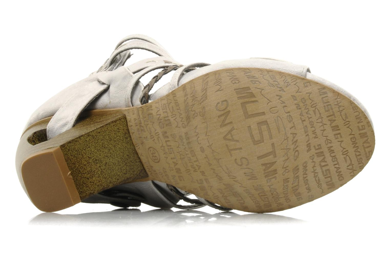 Sandales et nu-pieds Mustang shoes Momine Blanc vue haut