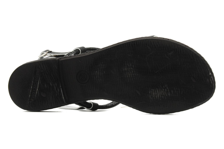 Sandalen Mustang shoes Maline schwarz ansicht von oben