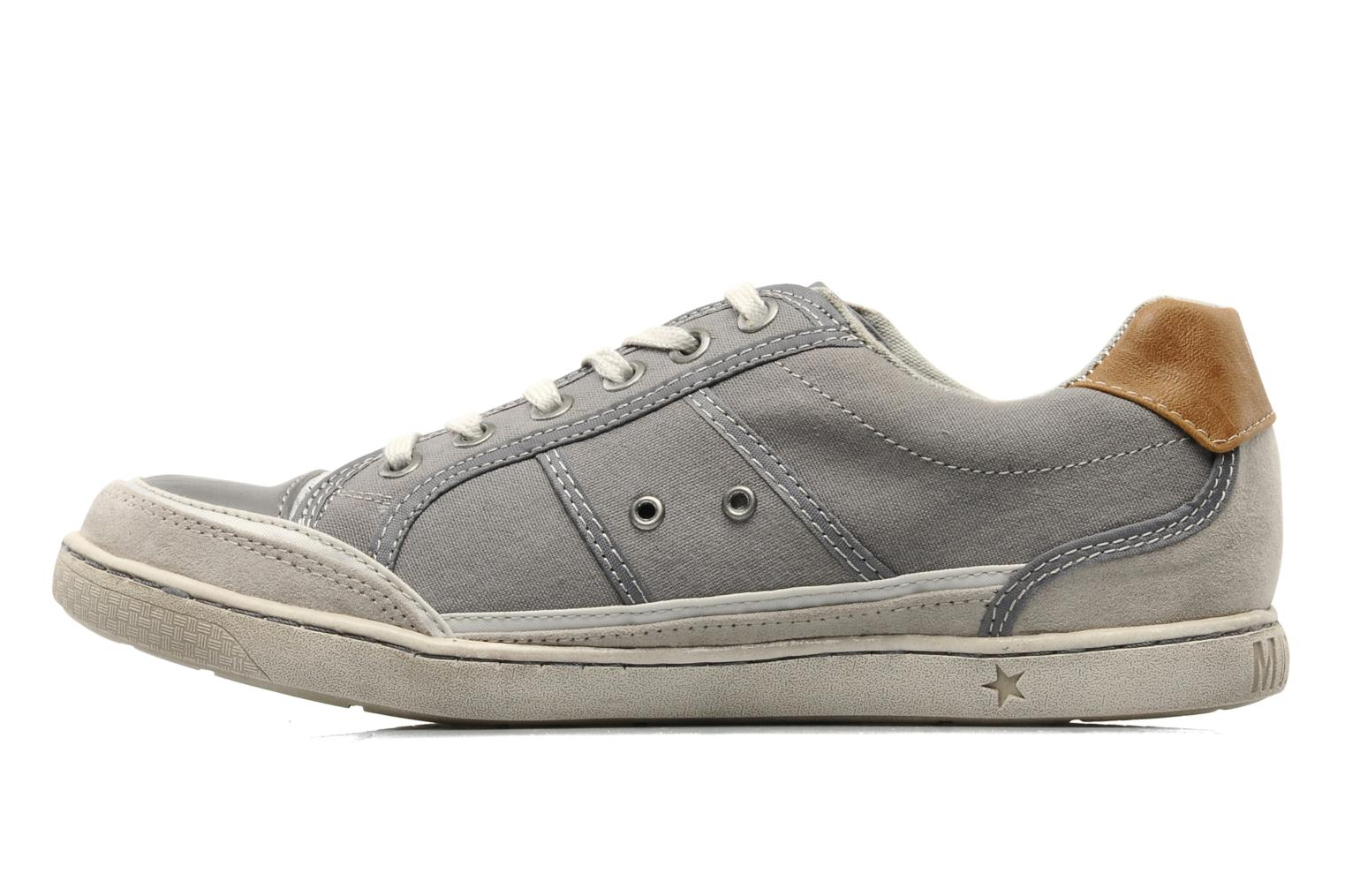 Baskets Mustang shoes Dolfine Gris vue face