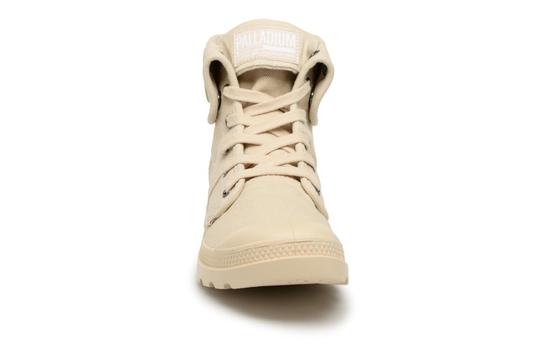 Baskets Palladium Us Baggy H Beige vue portées chaussures