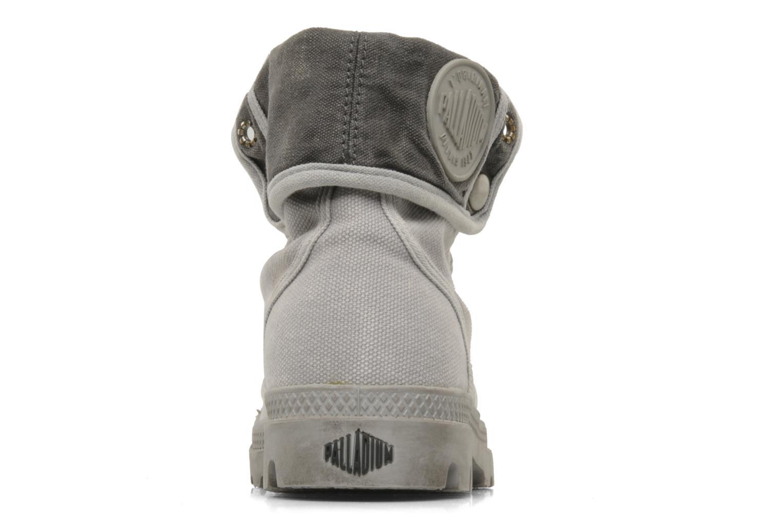 Sneakers Palladium Us Baggy F Grigio immagine destra