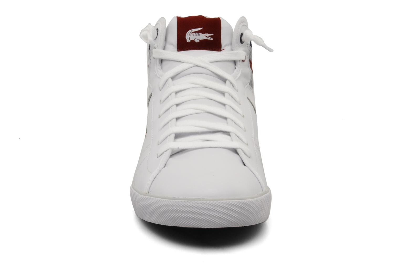 Baskets Lacoste Camous Vy Blanc vue portées chaussures