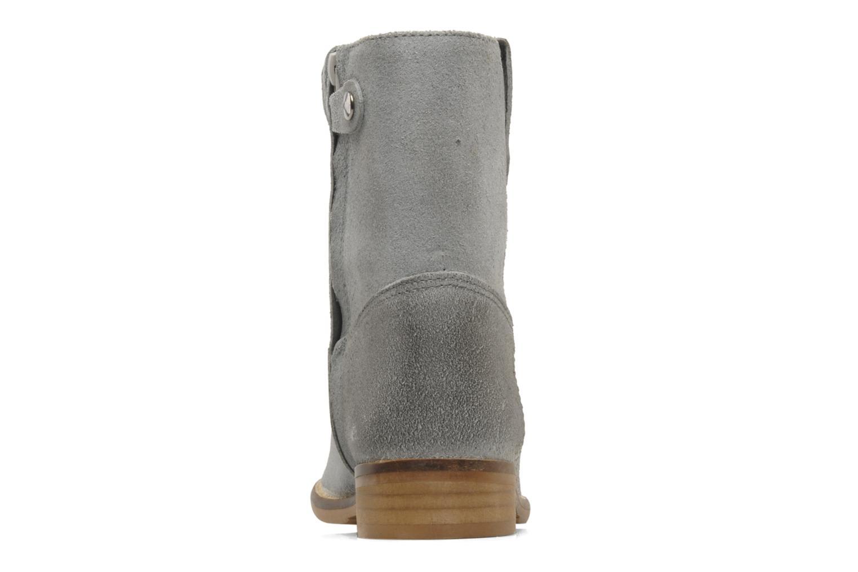 Bottines et boots Hip Hini Gris vue droite