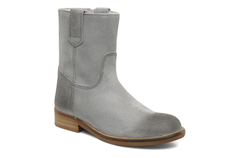 Bottines et boots Hip Hini Gris vue détail/paire
