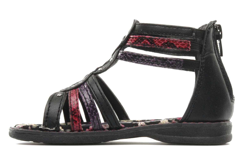 Sandalen I Love Shoes Stefania schwarz ansicht von vorne