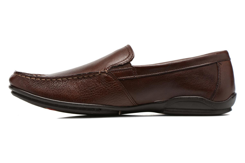 Loafers Fluchos Baltico 7149 Brun bild från framsidan