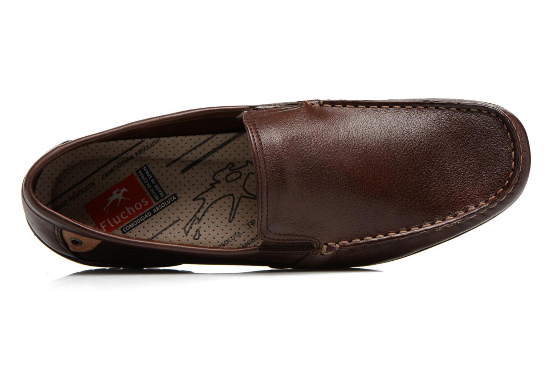 Loafers Fluchos Baltico 7149 Brun bild från vänster sidan