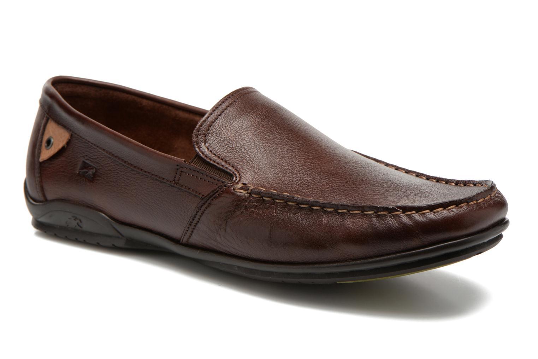 Loafers Fluchos Baltico 7149 Brun detaljerad bild på paret