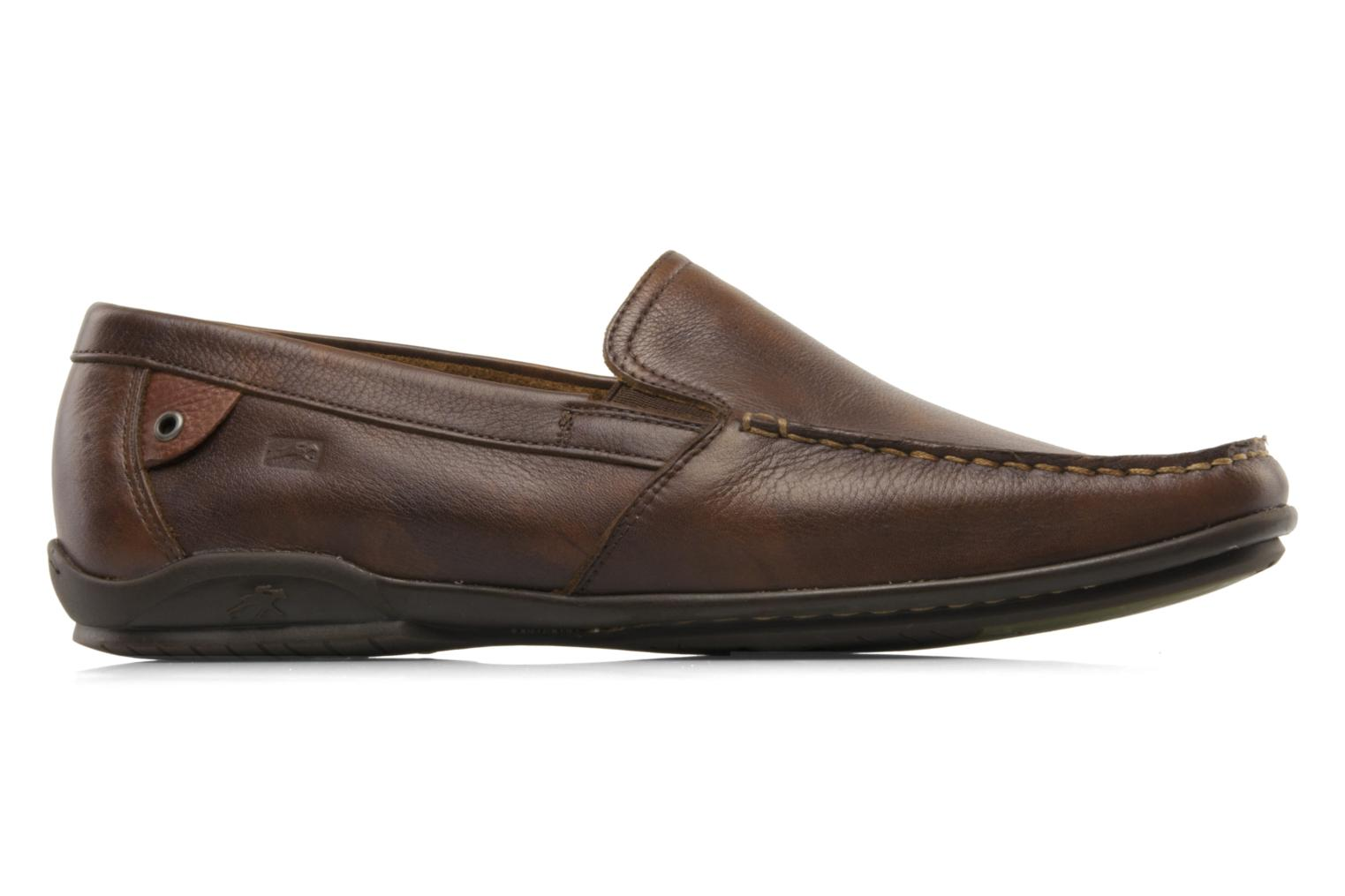 Loafers Fluchos Baltico 7149 Brown back view