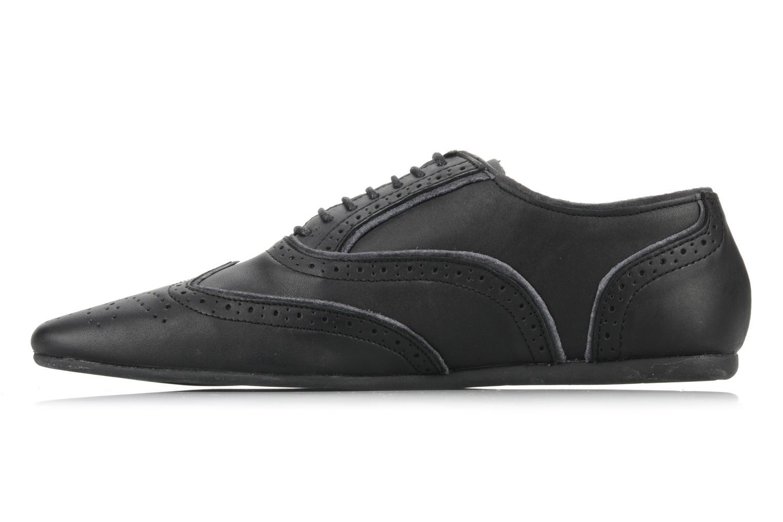 Lace-up shoes Schmoove Jamaica Grunge Garment Split Black front view