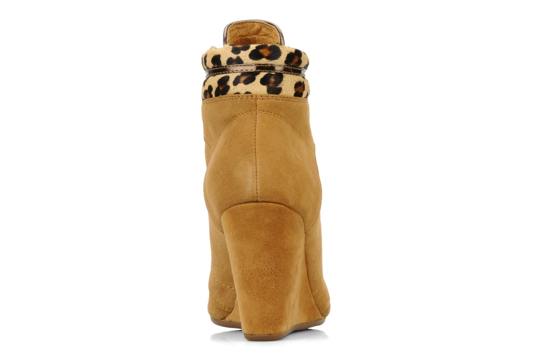 Bottines et boots No Name Diva Treck Beige vue droite