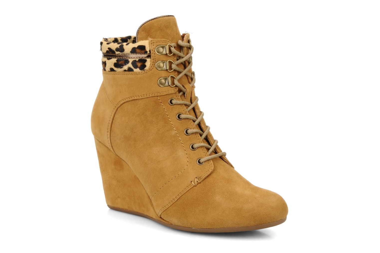Boots en enkellaarsjes No Name Diva Treck Beige detail