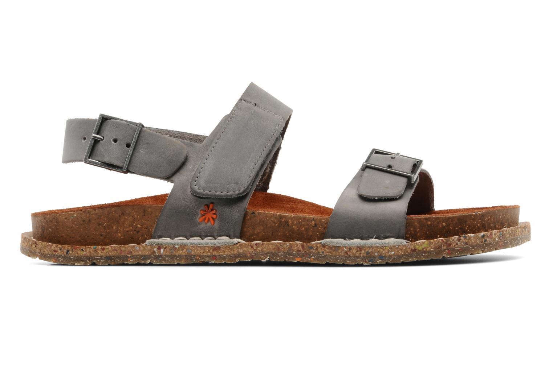 Sandales et nu-pieds Art Frankfurt 130 Gris vue derrière