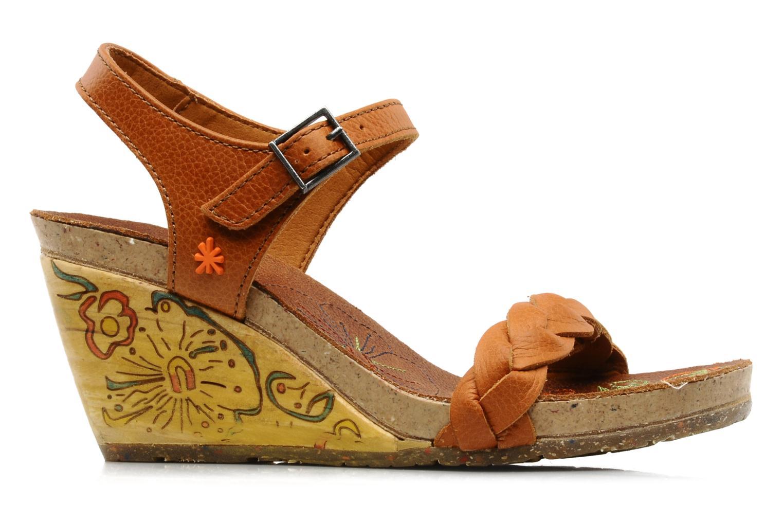 Sandales et nu-pieds Art Menorca 290 Marron vue derrière