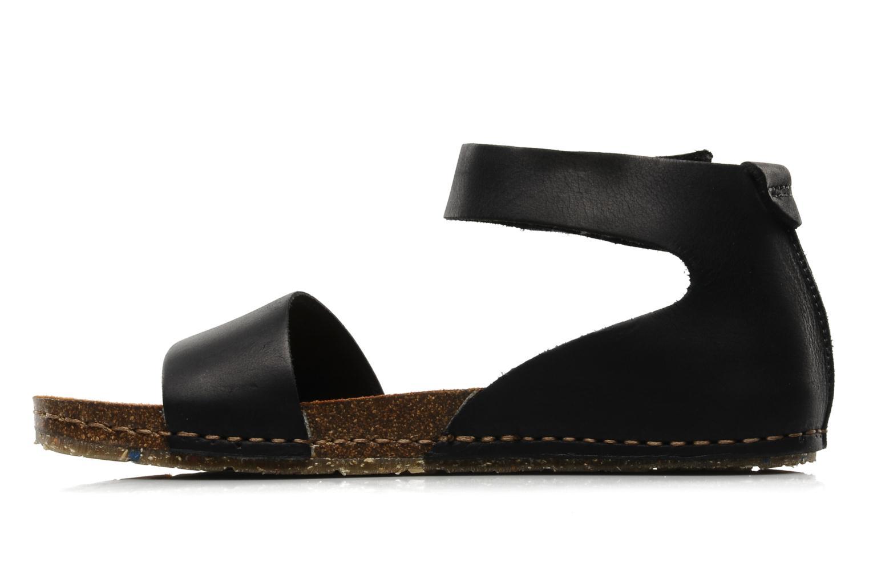 Sandals Art Creta 440 Black front view