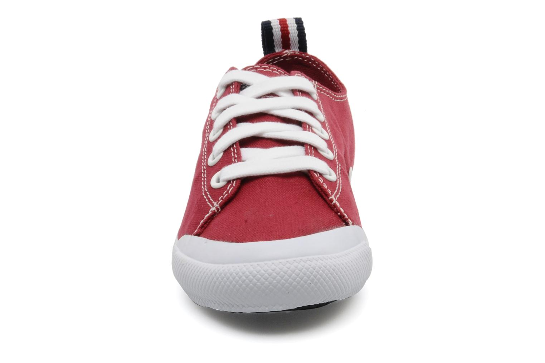 Baskets U.S Polo Assn. Boris Rouge vue portées chaussures