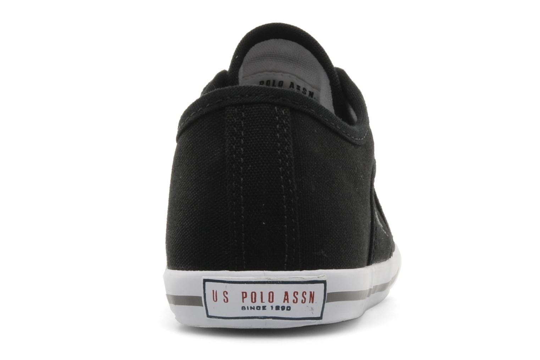 Sneakers U.S Polo Assn. Bange Zwart rechts