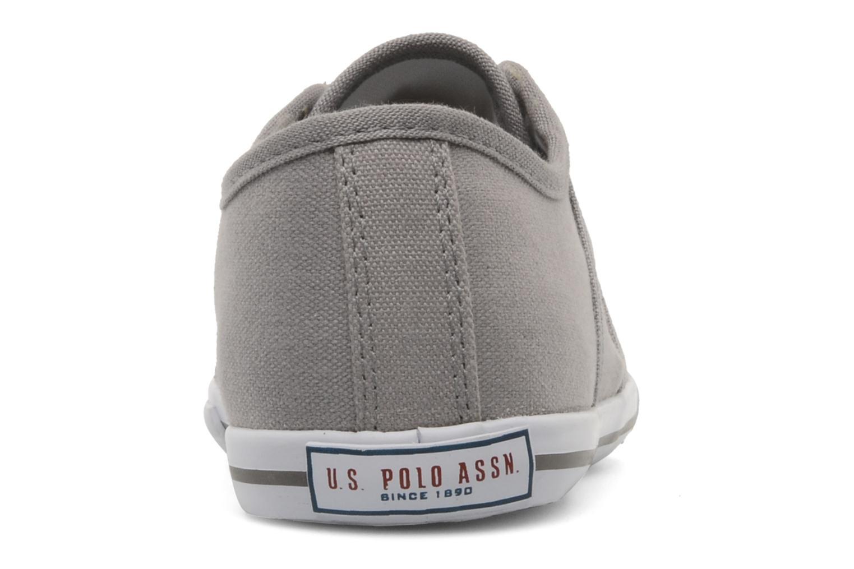 Baskets U.S Polo Assn. Bange Gris vue droite
