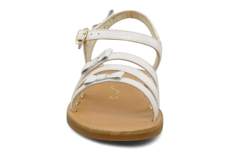Sandals Unisa Yastin White model view