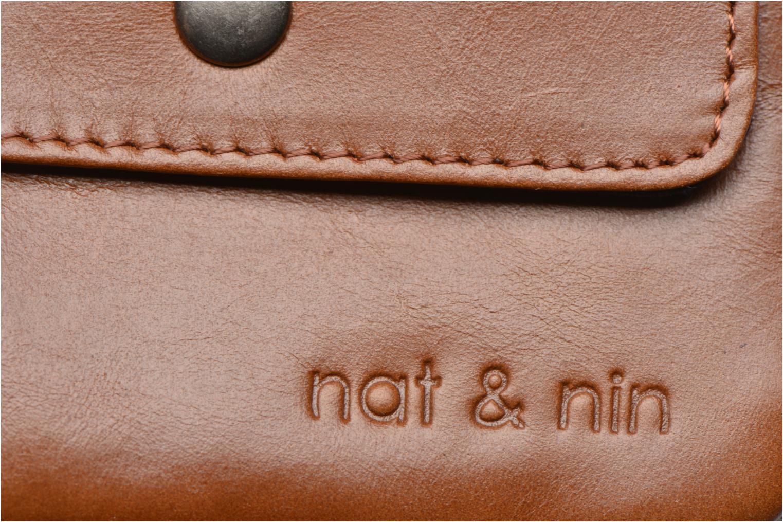 Kleine lederwaren Nat & Nin Tommy Bruin links