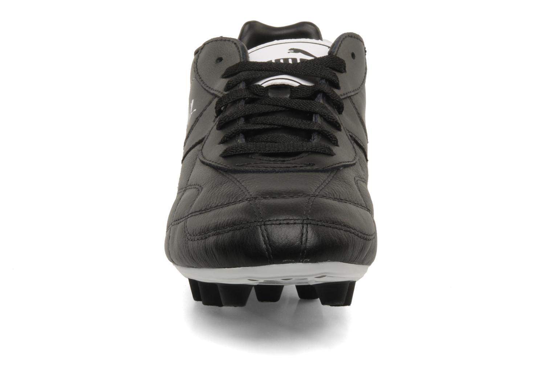 Chaussures de sport Puma Esito classic fg Noir vue portées chaussures