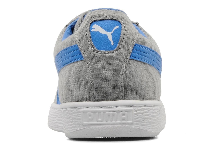 Basket c jersey Grey blue