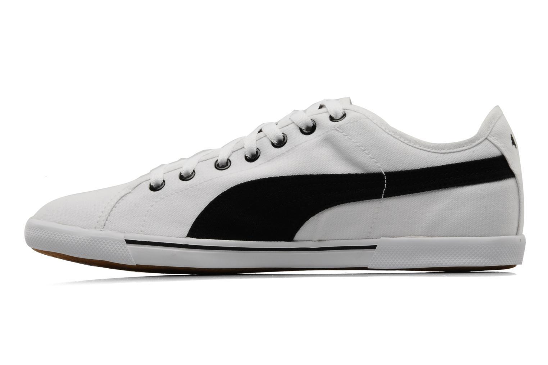 Sportschuhe Puma Benecio canvas weiß ansicht von vorne